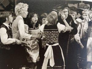 Singen und Schauspielen im Theater