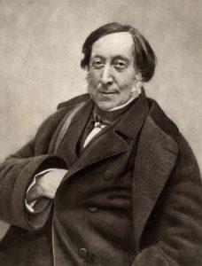 Der Komponist Gioacchino Rossini
