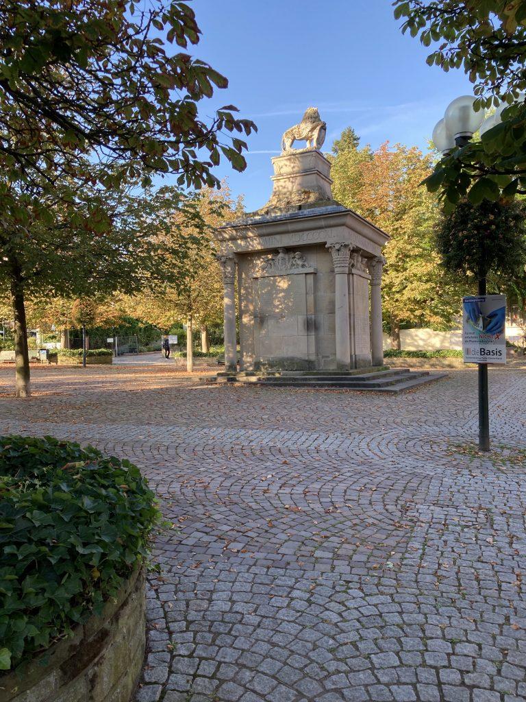 Denkmal in Bad Dürkheim