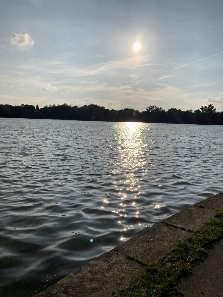 Maschsee Hannover Sonnenuntergang