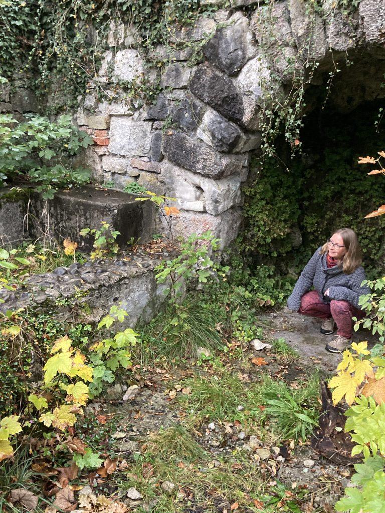 Hilkea Knies, Füssen, Ruine